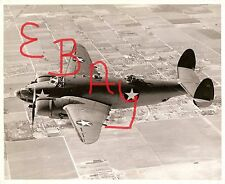 WWII 8X10 USN PHOTOGRAPH US NAVY LOCKHEED PV2 IN FLIGHT ACTION CLOSE UP LOOK