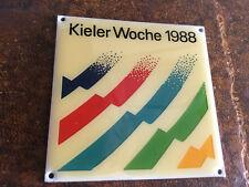 Kieler Woche Plakette 1988  TOP