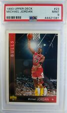 Rare Promo: 1993-94 UPPER DECK Michael Jordan #23, Line Through G, Graded PSA 9