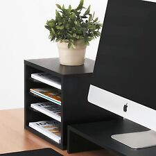 Fitueyes Desk Organizer Printer Stand Supply Storage Holder for Office Home