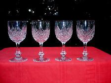 BACCARAT COLBERT 4 WINE GLASSES VERRES A VIN CRISTAL TAILLÉ WEINGLÄSER KRISTALL