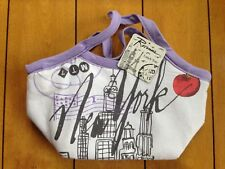 TriCoastal Design Insulated Lunch Tote Rosanna Reusable New York City Print NWT