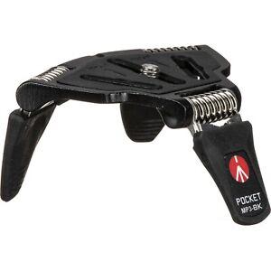 Manfrotto Mini Tripod POCKET L Black MP3-BK - Brand New