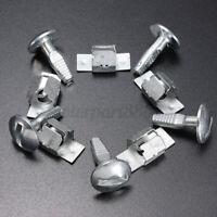 Kit 5 Clips +5 Vis Fixation Agrafes Protection pour Peugeot 206 207 406 407 806