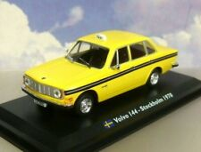 TAXIS OF THE WORLD DIECAST 1/43 VOLVO 144 TAXI CAB STOCKHOLM SWEDEN 1970 YELLOW