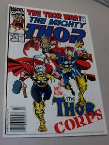 THOR 440  1ST APPEARANCE THOR CORPS BETA RAY BILL MARVEL 1991 Newsstand Beauty!