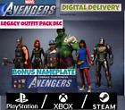 Marvel's Avengers DLC Legacy Outfit Pack  Nameplate Pre-Order Bonus PS4/XBOX/PC