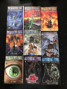 Resident Evil Bücher Komplett 1-9
