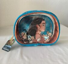 "Loungefly Disney'S ""Moana"" ~ 2 Piece Cosmetc Bag Set ~ New With Tags!"