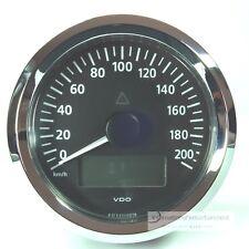 VDO VIEWLINE ELEKTRONISCHER  TACHOMETER 200KM/H CHROME  85MM SPEEDOMETER 12/24V