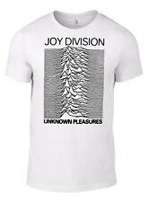 JOY DIVISION UNKNOWN PLEASURES T-SHIRT new order substance ian curtis vinyl CD W