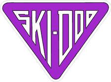 "#682 (1) 3"" Ski-Doo racing bee skidoo bombardier Vinyl Decal LAMINATED stickers"