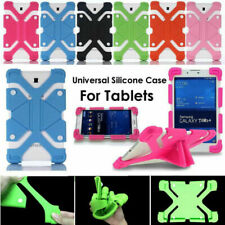 """Universal Kid Shockproof Silicone Cover Case For 7"""" ~ 8"""" Tablet Screen Protector"""