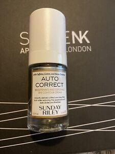 Sunday Riley Auto Correct Eye Cream Brightening Depuffing FULLSIZE 15ml New