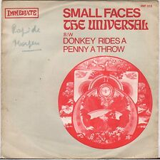 "THE SMALL FACES ""THE UNIVERSAL"" 60'S SP IMMEDIATE 512"