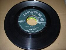 "BEATLES eight days a week / i'm a loser ( rock ) 7"" / 45 - parlophon italy"