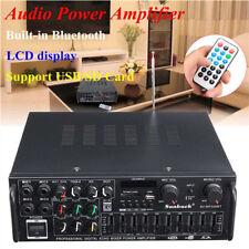 500W-2000W Bluetooth Digital Karaoke Stereo Home HIFI Audio Power Amplifier USB