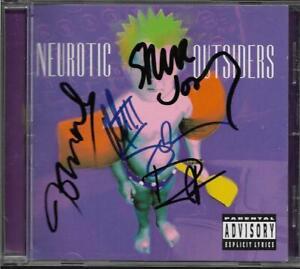 NEUROTIC OUTSIDERS - SEX PISTOLS, GUNS N ROSES, DURAN - FULLY HAND SIGNED CD