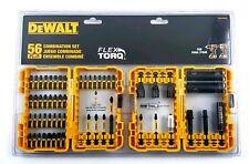 DeWalt 56 Pc Combination Flex Torq Driver Bit & Socket Set