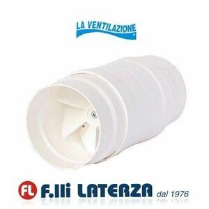 LA VENTILAZIONE Aspiratore centrifugo assiale per cappe Diam.100/120 ABS Bianco