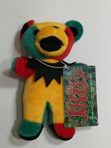 "Grateful Dead Irie Plush Birthday Dancing Bear 7"" 03/26/88 Hampton Coliseum NWT"