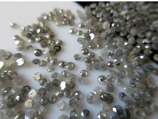 100 Pieces Wholesale 1mm To 2mm Salt And Pepper Rose Cut Diamond Loose Cabochon
