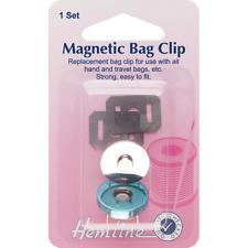 Dobladillo 32mm magnético clip del bolso Cartera Bolso de mano de reparación y reemplazo