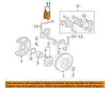 TOYOTA OEM 2000 Celica Brake-Front Pads 0446547030