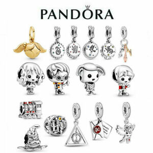 New Genuine Pandora Harry Potter Charm S925 ALE Sterling Silver & With Gift Bag