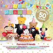 PLAY SCHOOL FAMOUS FRIENDS Celebrating 50 Years 2 CD NEW