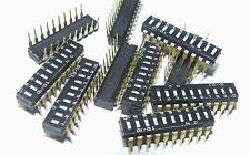 pack of 10 low profile 10 way DIP switches 10-10