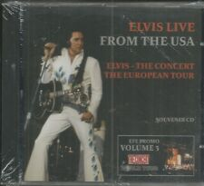 ELVIS PRESLEY - LIVE FROM THE USA - CD  - BRAND NEW