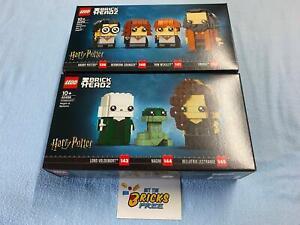 Lego Harry Potter Brickheadz Lot of 2 40495/40496 New/Sealed/Hard to Find