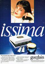 Publicité Advertising 018  1982  Guerlain cosmétiques creme Issima