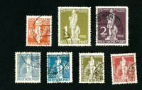 Germany Stamps # 9N25-31 VF Used Scott Value $341.00