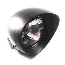 Universal Motorcycle Driving Head Light Lamp Cafe Racer Bobber Chopper Touring