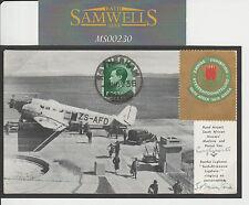 MS230 1936 Sud Africa Empire Exhibition Carta Per GB
