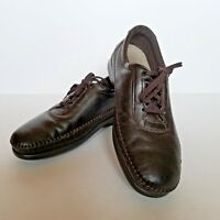 SAS Womens Shoes Size 8.5 M Traveler Tripad Comfort Brown Lace Up Made in USA