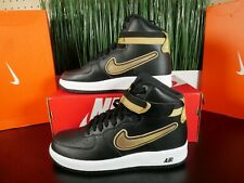 Nike Air Force 1 High LV8 Sport AF1 NBA Black Gold Fashion AV3938-001 Multi Size