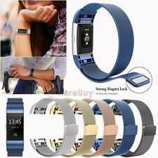 Milanese Magnetic Loop Stainless Steel Band Strap For Fitbit Alta Smart Watch