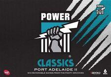 AFL - Power Classics - Port Adelaide : Vol 2 (DVD, 6-Disc Set) NEW & SEALED