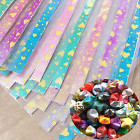 210 Strips Folding Origami Luminous Lucky Wish Star Paper Glows in the Dark