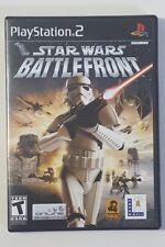 Star Wars: Battlefront - PlayStation 2 PS2 Black Label Video Game CIB Complete