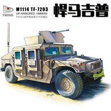 T-Modelo 1/72 #7203 EE. UU. M1114 Frag 5 Humvee con GPK Torreta
