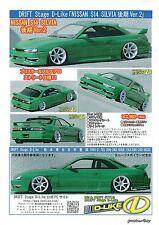 D-Like 1/10 Scale RC Drift Car Nissan Silvia S14 Kouki Body DL108 Drift JDM RC