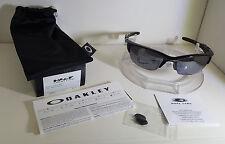 NEW Oakley Sunglasses HALF JACKET 2.0 POLISHED BLACK/ BLACK IRIDIUM OO9144-01