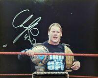 WWE WWF WCW Chris Jericho autographed photo 8x10 signed COA