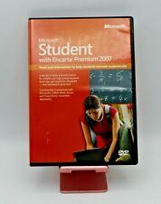 Student with Encarta Premium 2007 by Microsoft (2006, DVD)