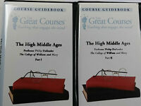 The High Middle Ages by The Teaching Company, 12 Cassettes