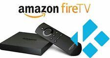 Amazon Fire TV Box w/ Alexa Voice Remote - 2nd Gen Quad Core - Custom Build 17.4